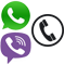 Телефон Whatsapp Viber